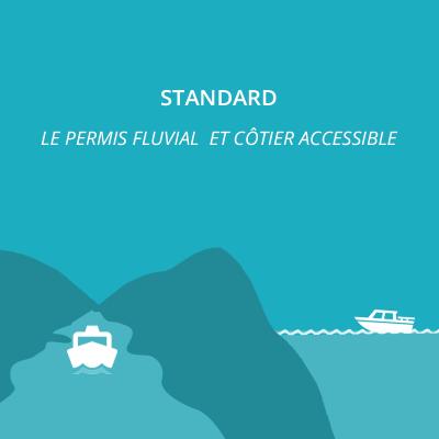 Permis fluvial + côtier- offre standard