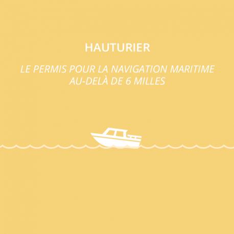 PERMIS HAUTURIER