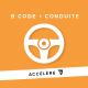 B ACCÉLÉRÉ CODE + CONDUITE