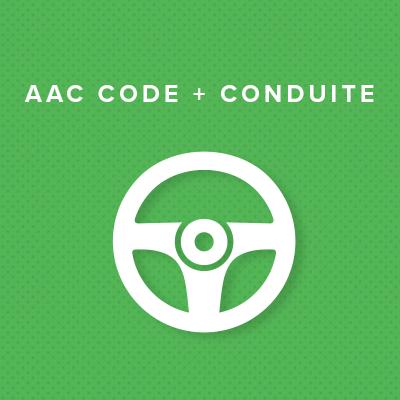 AAC CODE + CONDUITE