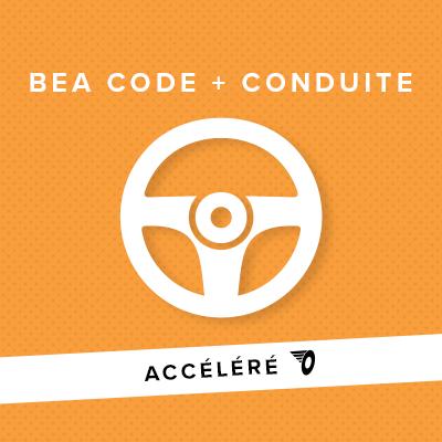 BEA ACCÉLÉRÉ CODE + CONDUITE