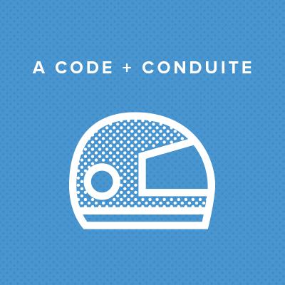 A CODE + CONDUITE