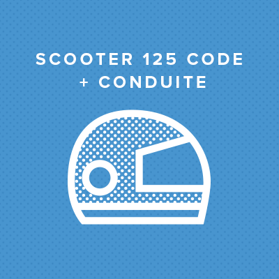 SCOOTER 125 CODE + CONDUITE