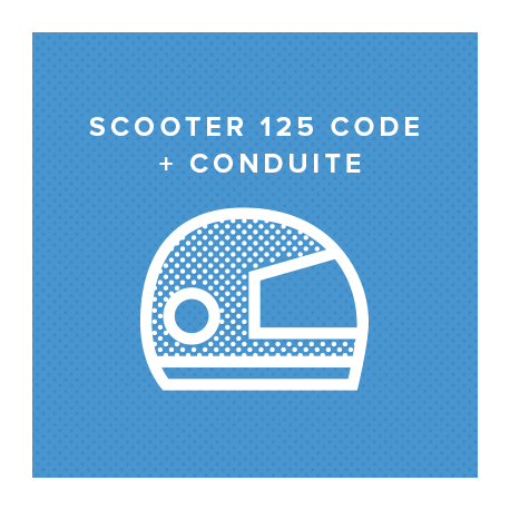 SCOOTER 125 CODE + CONDUITE